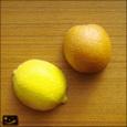 20080327|実物大のレモンとオレンジのマグネット