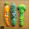 20080626|恐怖!ヴィンテージおもしろ顔の野菜のマグネット