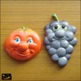 20080702|ヴィンテージおもしろ顔のフルーツマグネット その2