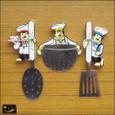 20090130|料理の鉄人?キッチンツールシェフマグネット