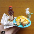 20100104|異国の朝食!パンケーキのマグネット