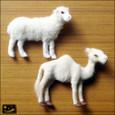 20081117|広尾でゲット!ハンドメイドヤギとラクダのマグネット