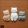 20090209|フカフカフカ・三匹の猫のマグネット