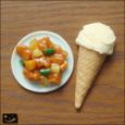 20091018|予期せぬ遭遇!酢豚とアイスクリームのマグネット
