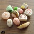 20091230|コロコロかわいい♪小さな和菓子のマグネット
