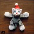 20091227|くたくたが楽しい♪サンタ猫のマグネット