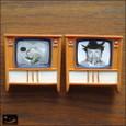 20100102|レトロな白黒テレビのマグネット