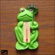 20100104|80年代ヴィンテージ!カエルの温度計マグネット