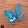 20100624|涼しげなブルーのチョウのマグネット