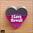 20100514|I Love Hawaii ハートクリップマグネット